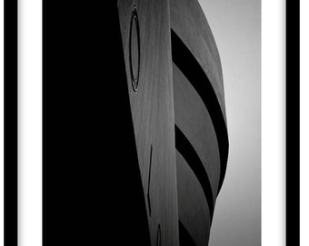Guggenheim Museum, New York City. Black and White Fine Art Photograph printed on 308gsm Hahnemuhle fine art paper (Unmatted)