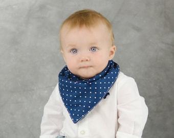 Baby Bandana Bib - Baby Bibs - Teething Bibs - Bandana Bib - Dribble Bibs for Babies - Reversible Bibs for Boys - Baby Shower Gifts