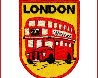 Iron On Patch : London Bus
