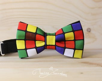 Rubik's Cube Bow tie - Bowtie Bowties, Bows, Bowties, Bow Ties, Bowties, Bowties, Bow Ties, Bow Ties, BowTie