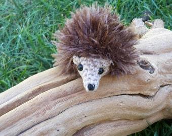Crochet Hedgehog, Miniature Hedgehog, Amigurumi Hedgehog, Häkeln Igel, Crochet Hérisson, Erizo