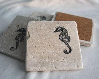 Seahorse Coasters- set of 4