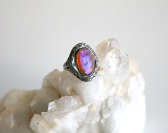 Dragons Breath Sterling Ring 2.75