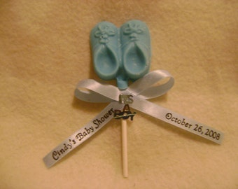 Chocolate Baby Shoe Party Favor