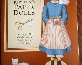 Pleasant Co. American Girl Kristen's Paper Dolls