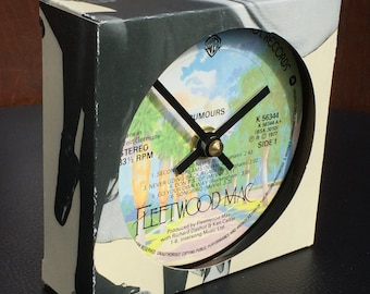 Fleetwood Mac - Rumours. Clock made from vinyl record
