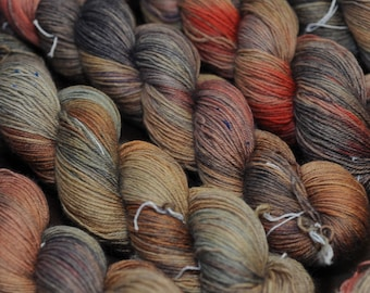 Mourning Dove on Discourse SW BFL Sock - 450 yd