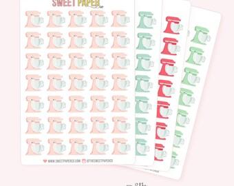 Mixer Planner Stickers
