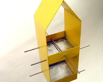 Home Modern Bird Feeder in Yellow