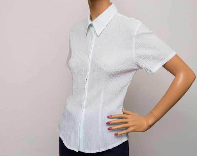 vintage blouse NOS Vintage deadstock Size M