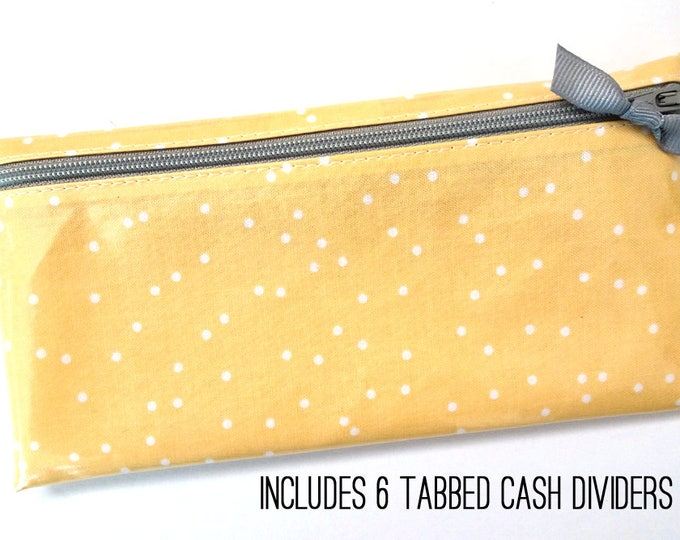 Yellow dot envelope system wallet