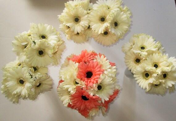 Gerbera Daisy Wedding Bouquet Silk Wedding Bouquet Gerbera