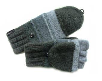 Convertible Mittens / Wool Mittens