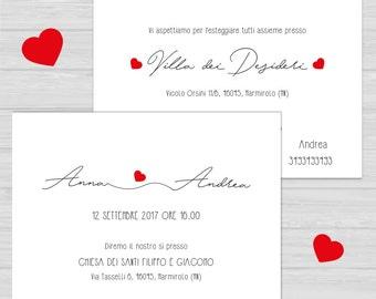 Wedding printable participation. Customizable wedding participation. Print-on-demand service. Wedding invitation. Printable invitation.