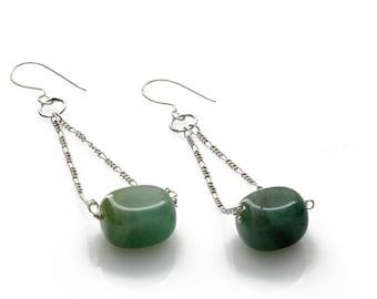 Statement Earrings - Handmade Jewellery -  Fine Jewellery - Women's Fashion - Gift For Women - Birthday Gift - Free Shipping - KJ-020