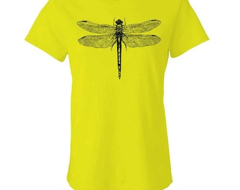DRAGONFLY - Ladies Babydoll T-shirt