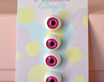 1/2 Inch Eyeball Shank Buttons: Style 2