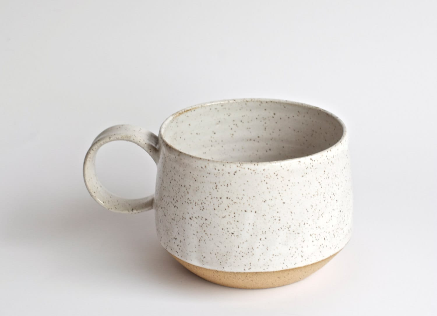 🔎zoom. latte mug made to order handmade pottery mugs ceramic