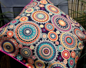 Bright, Bold & Colourful Throw Cushion