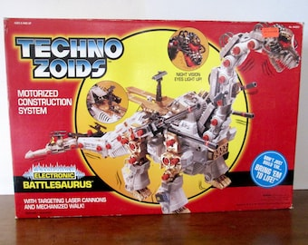 Rare Techno Zoids Electronic Battlesaurus by Kenner In Unopened Box