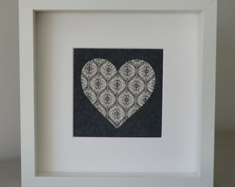 Framed Heart Picture