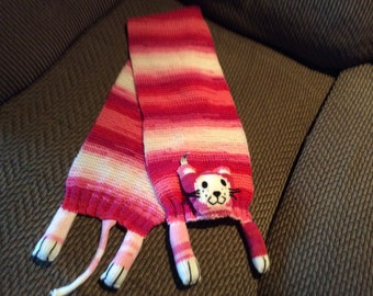 Kitty Scarf for Girl