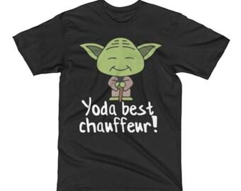 Chauffeur Shirt - Chauffeur Tee Shirts - Chauffeur Gifts - Chauffeur T Shirts - Best Yoda Dealer Tee Shirt - Star Wars Shirt For A Chauffeur
