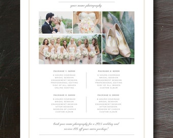 Maria On Etsy - Free pricing template for photographers