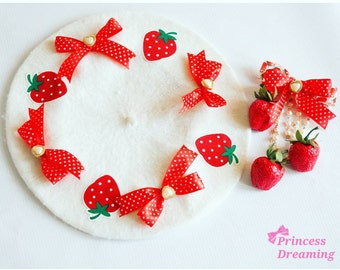 Pick A Color-Strawberry Beret