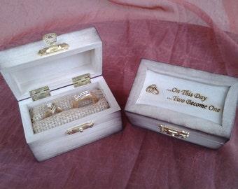 Ring security boxring bearer boxwedding ring box custom engraved ring box junglespirit Images