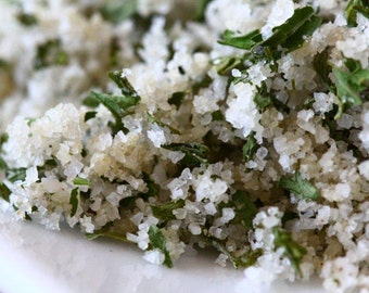 Parsley and Garlic French  Sea Salt