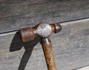 Antique Ball Peen Hammer