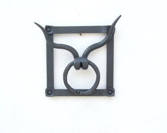 Taurus zodiac sign steel decorative wall frame