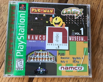 Namco Museum Volume 1 (Greatest Hits) - Playstation 1 (PS1)