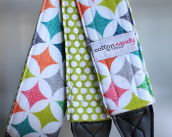 Cathedral Windows Reversible Camera Strap