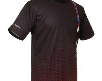 BMW Black Red Points M Power Cool Car Men's Fashion Graphics Print T-shirt Tuning Auto