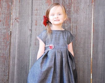 The Lizzy Dress PDF Sewing Pattern