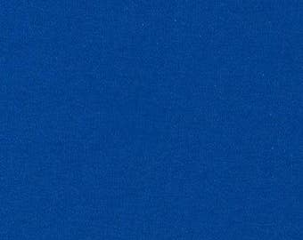 KNIT - Solid Royal Blue Interlock Knit from Robert Kaufman's Catalina Knit Collection