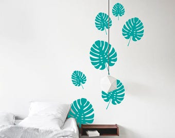 & Tropical wall decal   Etsy