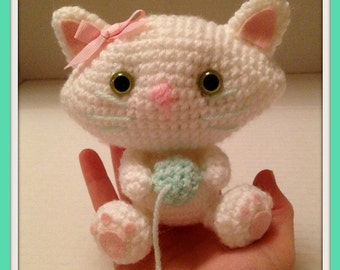 Sweetheart Kitty Cat Crochet Pattern