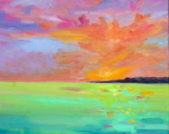 Sunrise on an Island