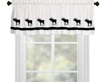 Very Moose curtains | Etsy NS99