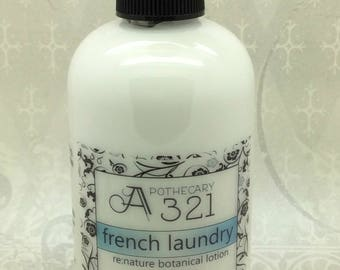 French Laundry Re:Nature Botanical Vegan Lotion Natural Paraben Free Lotion