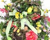 Large Spring Wreath, Summ...