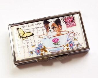 Pillule de chien, pillule, pillule 7 jours, 7 sections, 7 jours, pilulier, chiot, chien, boîte à pilules, chiot de tasse à thé, boîte à pilules chien (3979)