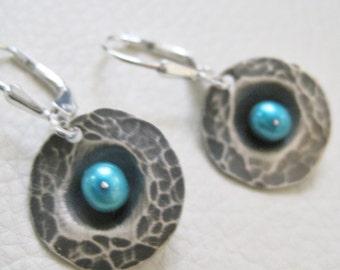 Unearthed II, Sterling Silver Earrings