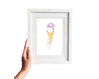 Sweet • Fashion Illustration | Glicée Art Print | Wall Art | Lifestyle Art
