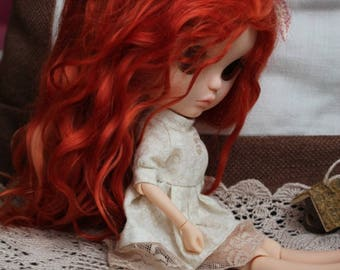 Doll wig blythe reroot sculp for order\sold out