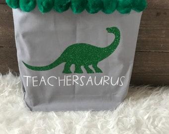 Teachersaurus Tote