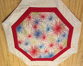 Fireworks table topper